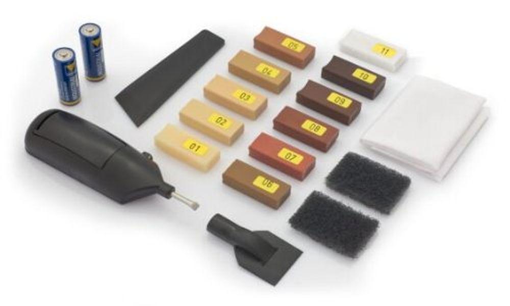 reparaturset f r laminat kork parkett holzboden kunststoff ebay. Black Bedroom Furniture Sets. Home Design Ideas