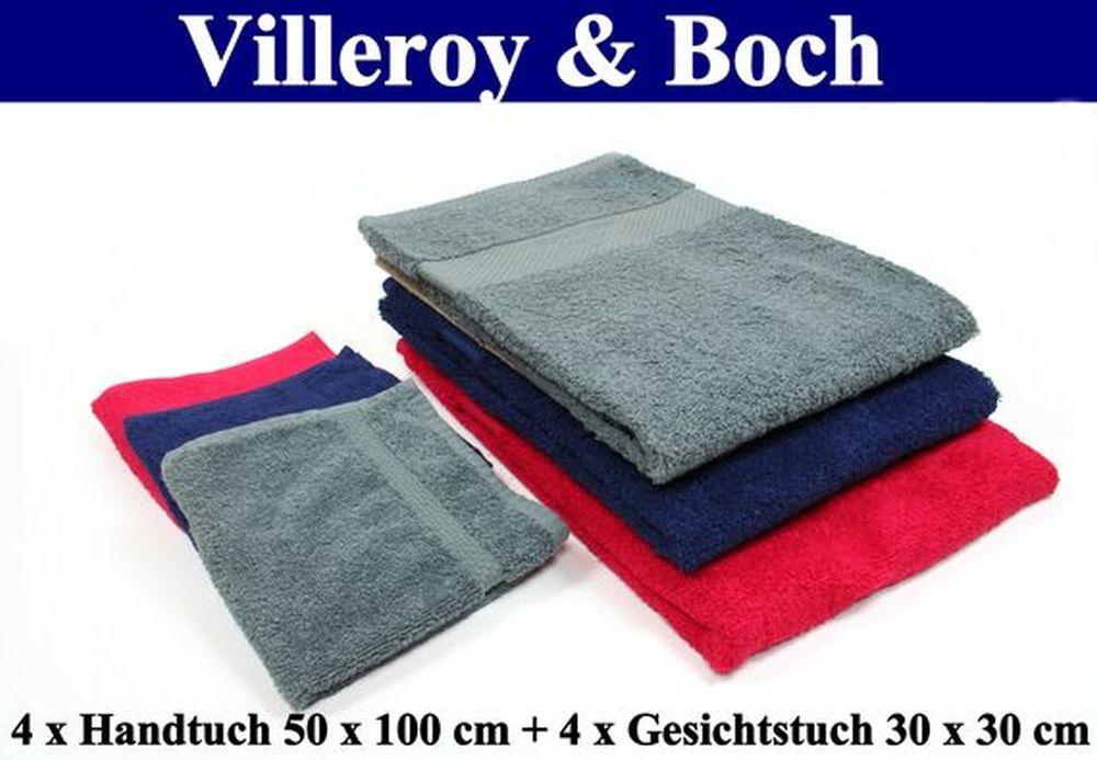 VILLEROY-amp-BOCH-BAD-TEXTILIEN-versch-SETS-5-Farben-V-amp-B Indexbild 5