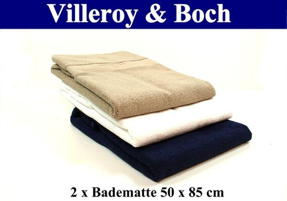villeroy boch bad textilien versch sets 5 farben v b ebay. Black Bedroom Furniture Sets. Home Design Ideas